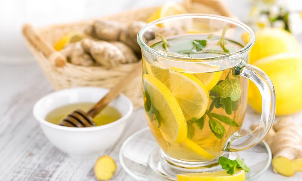 زنجبیل- مای ژن- چایی- لیمو- کاهش وزن- چربی سوز